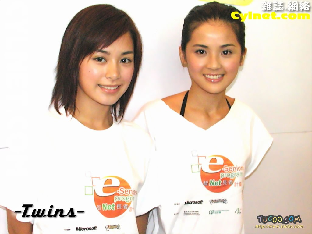 壁纸 twins/港台明星壁纸:Twins Chinese Stars Wallpapers / Twins 1 /...