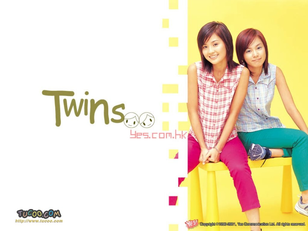壁纸 twins/港台明星壁纸:Twins Chinese Stars Wallpapers / Twins 15 /...