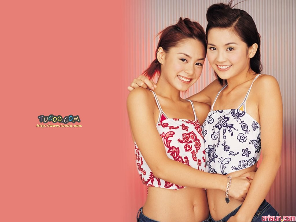 壁纸 twins/港台明星壁纸:Twins Chinese Stars Wallpapers / Twins 17 /...
