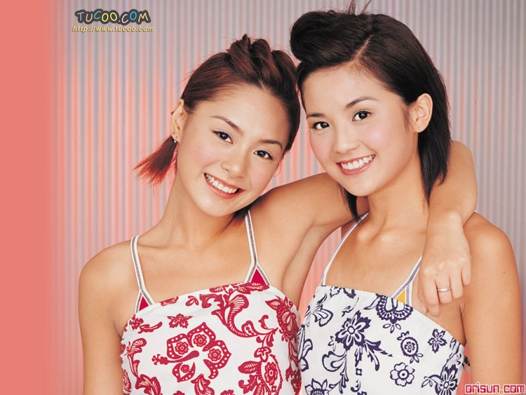 壁纸 twins/港台明星壁纸:Twins Chinese Stars Wallpapers / Twins 21 /...