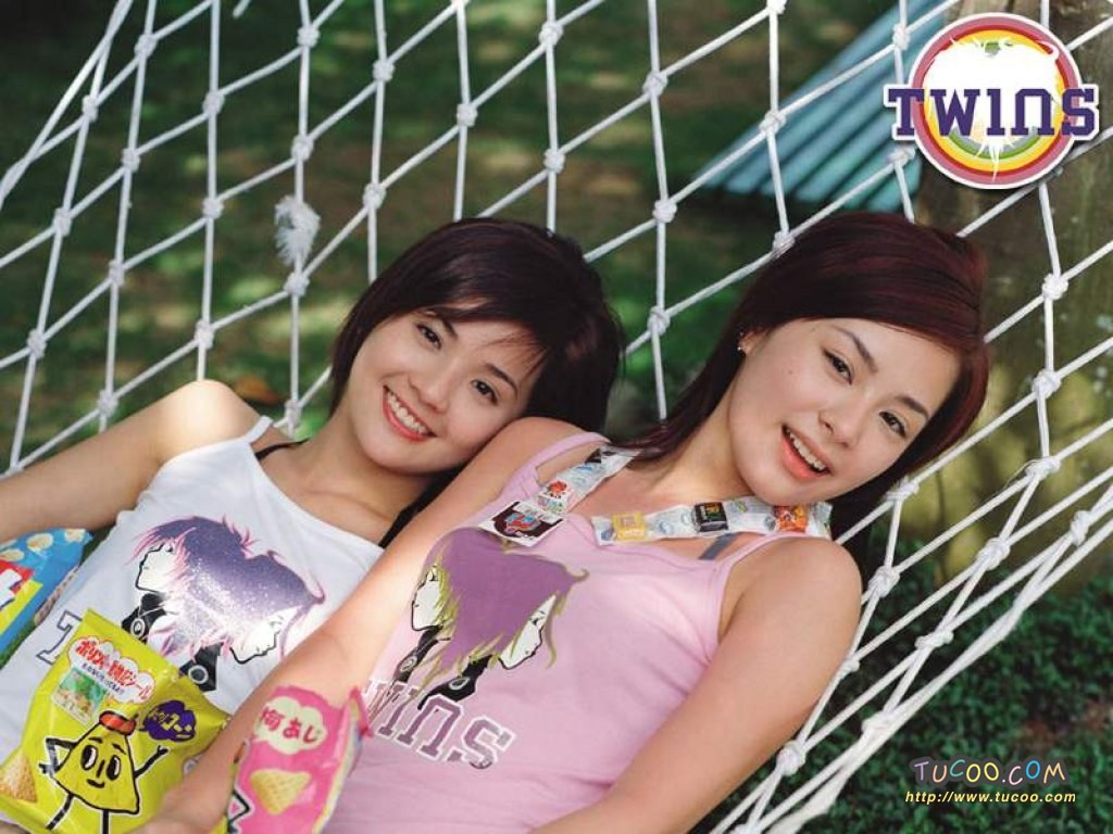 所在/港台明星壁纸:Twins Chinese Stars Wallpapers / Twins 34 /...