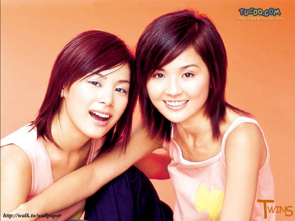 壁纸 twins/港台明星壁纸:Twins Chinese Stars Wallpapers / Twins 38 /...